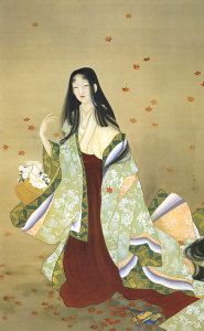 花がたみ/上村松園/1915