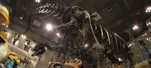 アパトサウルスパノラマ