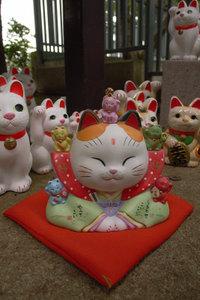 華やか招き猫 GR DIGITAL F2.8 1/125sec ISO64 -0.3EV