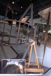 航空発祥記念館 岩田正夫のニューポール GR DIGITAL F2.4 1/21sec ISO154 -0.3EV