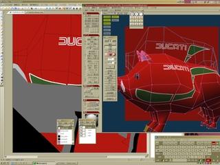 メタセコ+コミポで自作3Dモデルのテクスチャに影を入れる作業