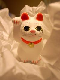 豪徳寺の招き猫の写真