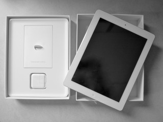 iPadパッケージ内容