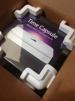 Time Capsule開梱