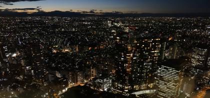都庁展望室:夜景
